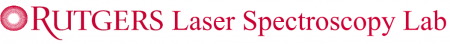 Rutgers Laser Spectroscopy Lab